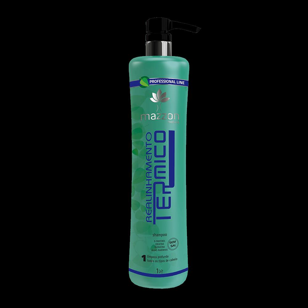 Shampoo Antirresíduos Realinhamento Térmico