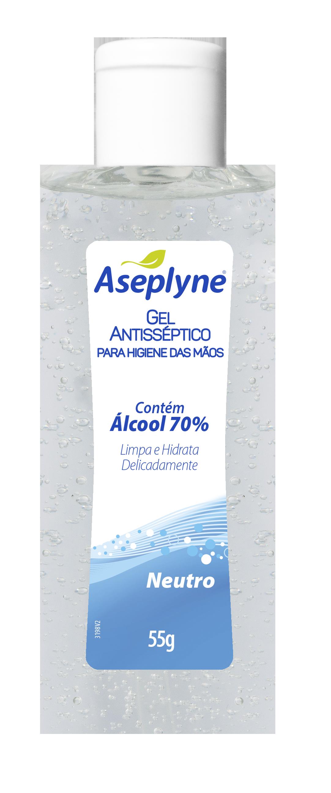 Gel Higiene Mãos Aseplyne Neutro 55G