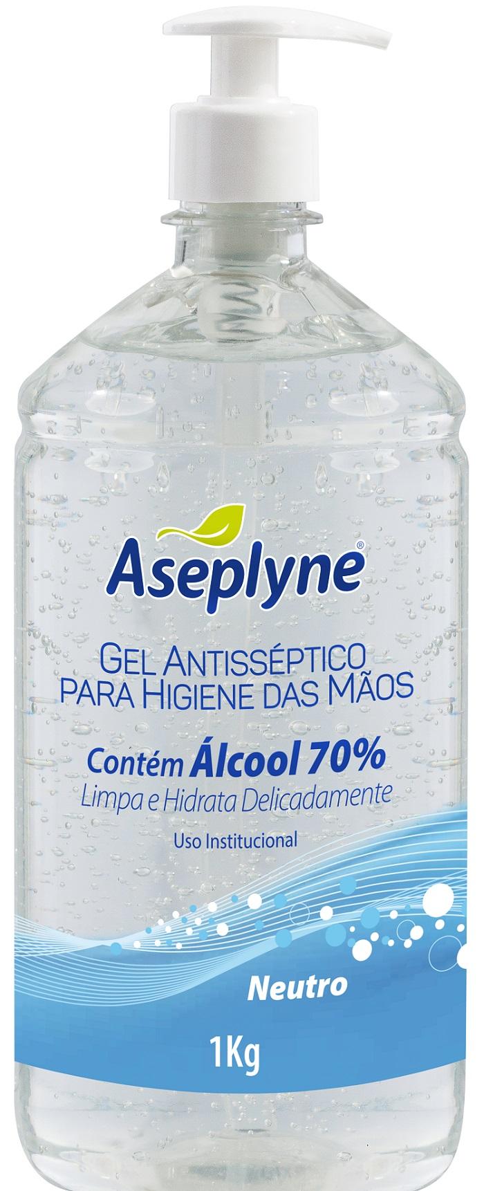 Gel Higiene Mãos Aseplyne Neutro 1Kg