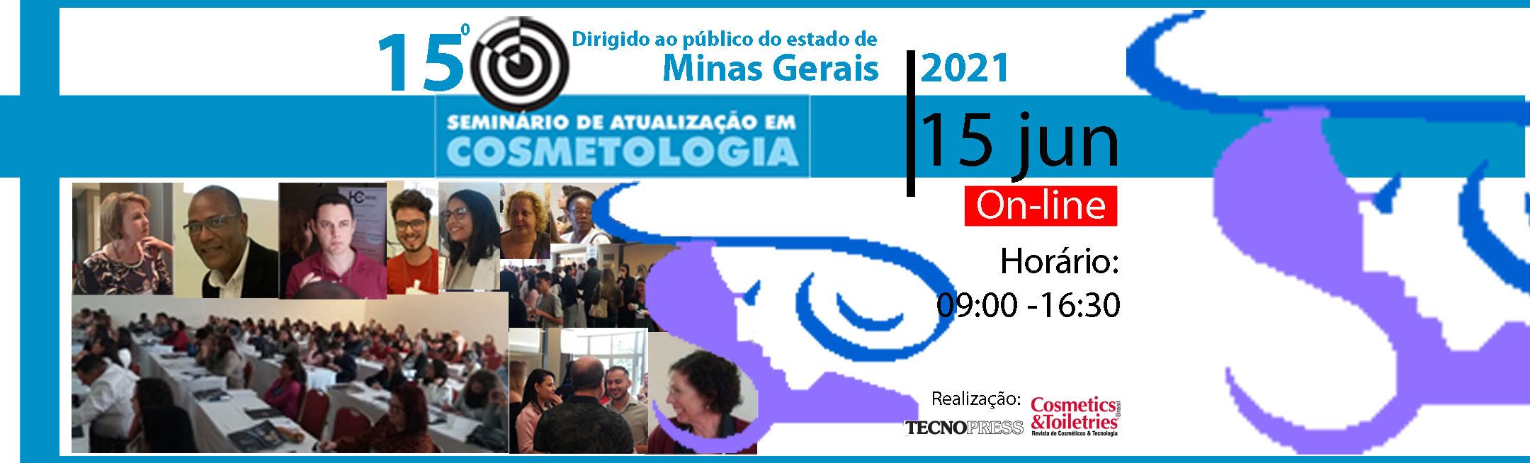 15º Seminário de Atualização em Cosmetologia de Minas Gerais