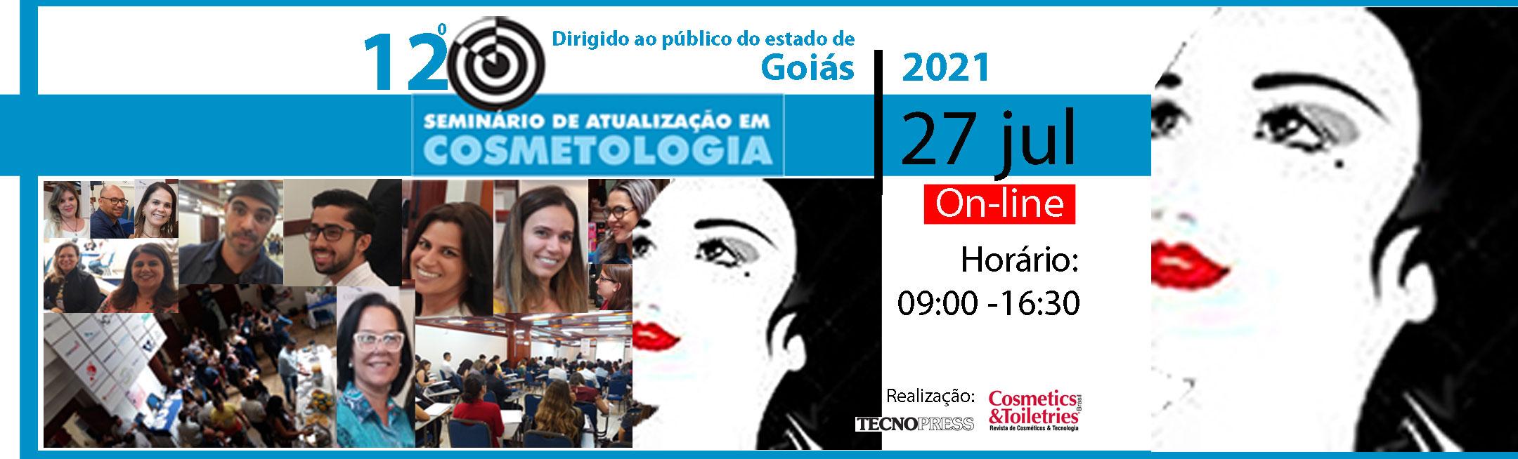 12º Seminário de Atualização em Cosmetologia de Goiás