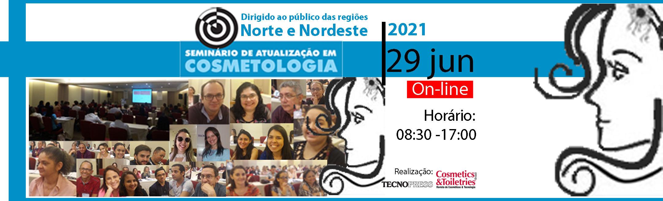 Seminário de Atualização em Cosmetologia Norte_Nordeste