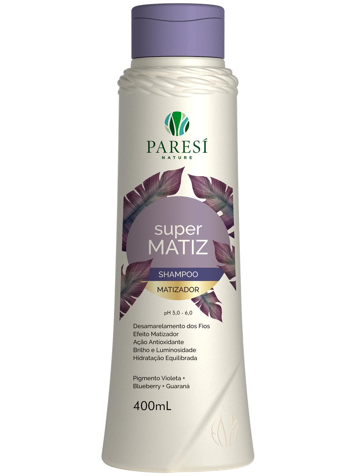 Shampoo Matizador Super Matiz - Paresí Nature